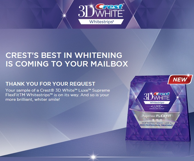 Sampleof-Crest-3D-White-Luxe-Supreme-FlexFit-White-Strips